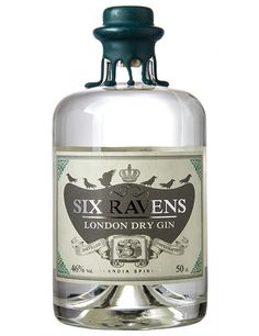 This is the new Six Ravens London Dry Gin! #sixravens #sixravenslondondrygin #gin #sixravensgin