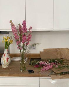 My Flower, Pretty Flowers, Fresh Flowers, Pink Flowers, Cactus Plante, No Rain, Flower Aesthetic, My New Room, Decoration