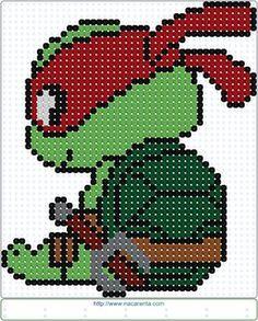 Rafael en Jeroglífico.                                                                                                                                                     Más Crochet Stitches Patterns, Perler Patterns, Beading Patterns, Diy Perler Beads, Perler Bead Art, Cross Stitch Charts, Cross Stitch Patterns, Cross Stitching, Cross Stitch Embroidery