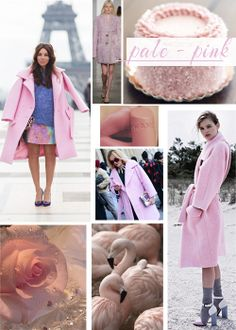 Pale pink, pink, trends
