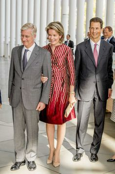 King Philippe and Queen Mathilde visited Luxemburg/ Sept. 26,2017