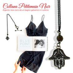 Ciondolo PETITEMAIN NOIR Design by F. Puppo  #bluepointfirenze #bpf #italianissimi #jewels ##fashionissimi #handmade #gioielloartigianale #ciondoli