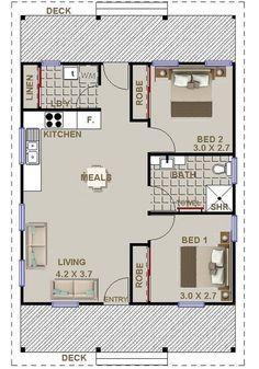 2 bedroom granny flat …