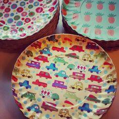 Prato carrinhos! Amor dos meninos www.jomucci.com.br