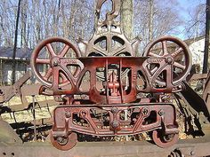 Antique Vintage Cast Iron Jamesway Hay Trolley Unloader Carrier Pulley Farm Tool