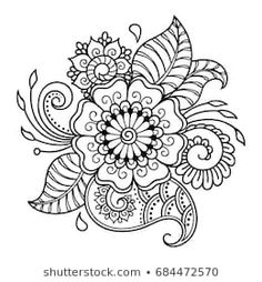 Henna drawings - Henna tattoo flower template Mehndi style Set of ornamental patterns in the oriental style – Henna drawings Mandala Tattoo Design, Mandala Arm Tattoo, Henna Tattoo Designs, Mandala Drawing, Henna Designs Drawing, Henna Tattoos, Estilo Mehndi, Mehndi Flower, Flower Mandala