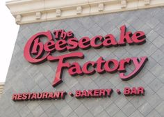 The Cheesecake Factory...between the their food and cheesecake, you can't go wrong.