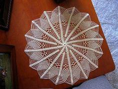 Znalezione obrazy dla zapytania crochet doilies and patterns