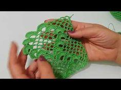 Kolay ve Güzel havlu Kenarı Yapılışı&Crochet - YouTube Creative Embroidery, Crochet Stitches, Fingerless Gloves, Arm Warmers, Projects To Try, Make It Yourself, Elsa, Dresses, Crochet Tutorials