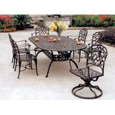 Found it at Wayfair - Catalina 7 Piece Dining Set with Cushions