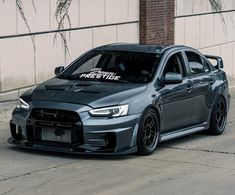 mitsubishi lancer evo x Japanese Sports Cars, Japanese Cars, Mitsubishi Lancer Evolution, Tuner Cars, Jdm Cars, Custom Bikes, Custom Cars, Rs6 Audi, Street Racing Cars