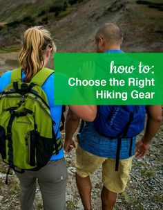 How to choose the right Hiking Gear. Shop our full collection of Hiking Gear at ShoeBuy!