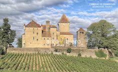 Château de Pierreclos, Bourgogne (France)