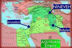 Jerusalem in the context of the Middle East cities of Nineveh and Babylon