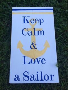 Love a Sailor by TheLoveLeeHome on Etsy