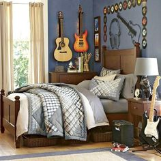 Styling up Your Bedroom to Bring Rock and Roll Scheme