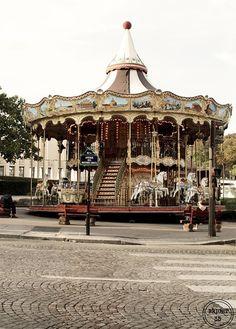 Paris Carousel Fine Art Photography Paris Photography by Bright35