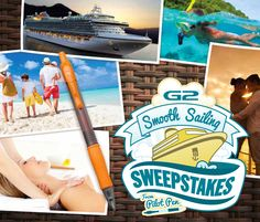 Enter for your chance to win a $10,000 dream cruise!  -GRAND PRIZE: $10,000 Cruise -2ND PRIZE: $1,000 Spa Day -3RD PRIZE: $500 GoPro® Camera  Click link to enter...