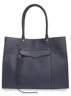 Rebecca Minkoff New Medium Mab Saffiano Leather Midnight Blue Tote Bag. Get one of the hottest styles of the season! The Rebecca Minkoff New Medium Mab Saffiano Leather Midnight Blue Tote Bag is a top 10 member favorite on Tradesy. Save on yours before they're sold out!