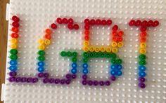 LGBT pärlor fusebeads