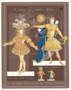 Louis XIV, the Sun King 02   C. David Claudon