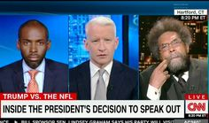 Cornel West Blasts Trump For NFL Protest Comments: 'Get Off the Symbolic Crack Pipe'