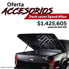 ¡EI Accesorio ideal para tu #Hilux! Los Deck Cover Speed Hilux, en oferta este mes.   https://autoamerica.com.co/promo-accesorios/promo-para-hilux/