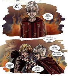 Sebastian & Jace, City of Heavenly Fire