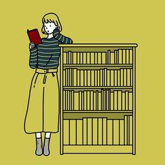 読書の秋 . illustration
