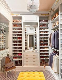 The Chic Technique: Closet organization.