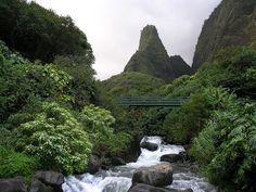 Iao Valley and Iao Needle by SunyFLx4, via Flickr