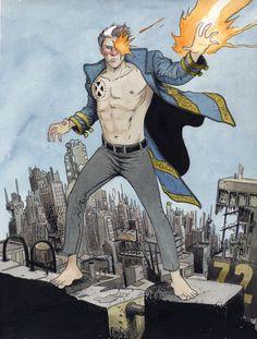 Nate Grey, aka X-Man, by Farel Dalrymple