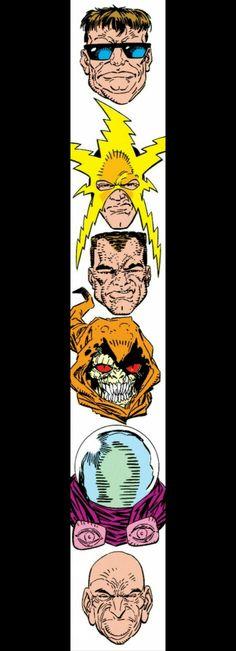 The Sinister Six - Amazing Spider-man #335 - Erik Larsen & Terry Austin