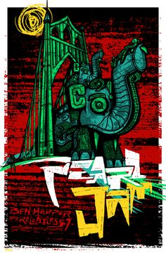 Pearl Jam @ Clark County Amphitheater Portland by Brad Klausen for Artillery Design (2009)
