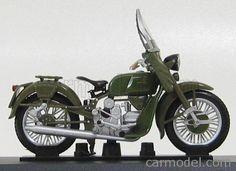 EDICOLA C035 Scale 1/24  MOTO GUZZI FALCONE 500 CARABINIERI 1967 MILITARY GREEN