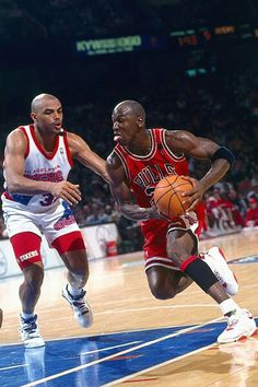 Michael Jordan VS Charles Barkley