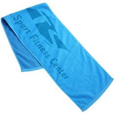 """This towel offers a """"no sweat"""" way to reach out to members!"""