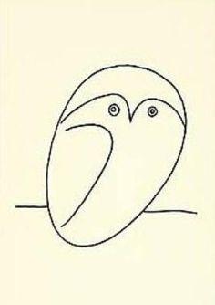 Picasso Hibou