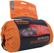 ESCAPE BIVVY - Combining breathability, body heat reflectivity, and water resistance for the most fully-featured backcountry emergency shelt...