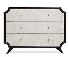 Bone Burst Chest Gorgeous hand inlay bone in a striking burst formation highlighted by the unique shape of this dark stained chest. Stunnin...