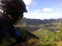 Valle de El Palmar desde el Monte del Agua #avistadepedal #tenerife #inviernoencanarias #islascanarias #bikecanarias #buenavistadelnorte