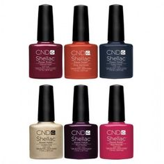 CND Shellac Power Polish - Modern Folklore Collection Fall 2014 - All 6 Colors