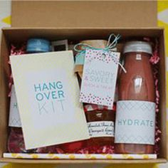Add a personal touch to your hen party with survival and hangover kits. Add some thoughtful fillers and surprise the hen do guests with this unique idea. Wedding Events, Wedding Reception, Our Wedding, Dream Wedding, Weddings, Wedding Bride, Cute Wedding Dress, Fall Wedding Dresses, Diy Wedding Favors