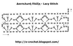 Δαντελωτή πλέξη ή Lacy Stitch