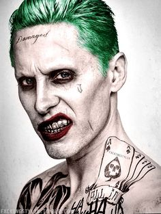 'Suicide Squad' The Joker Portrait