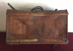 www.M37Auction.com: C A RANN TRUNK - ID Officer's Trunk From Vermont Infantry Auction Items, Vermont, Trunks, Decor, Drift Wood, Decoration, Tree Trunks, Decorating, Deco