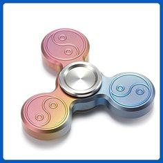 Accmor Cool Titanium Alloy Rainbow Spinner Fidget Toys, Never Rusted Bearing - Fidget spinner (*Amazon Partner-Link)