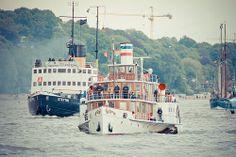 Impressionen vom 825. Hafengeburtstag der Hansestadt Hamburg. Auf Touzr mit der Pedro Doncker. - Raddampfer Freya aus Kiel - http://www.pixelpiraten.net/2014/05/impressionen-vom-825-hafengeburtstag/