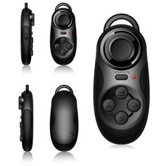 5 in 1 Wireless Bluetooth Remote Controller Game Pad Selfie Shutter Joystick