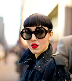 Great glasses and love the coat